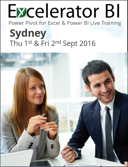 Power Pivot Training Brisbane