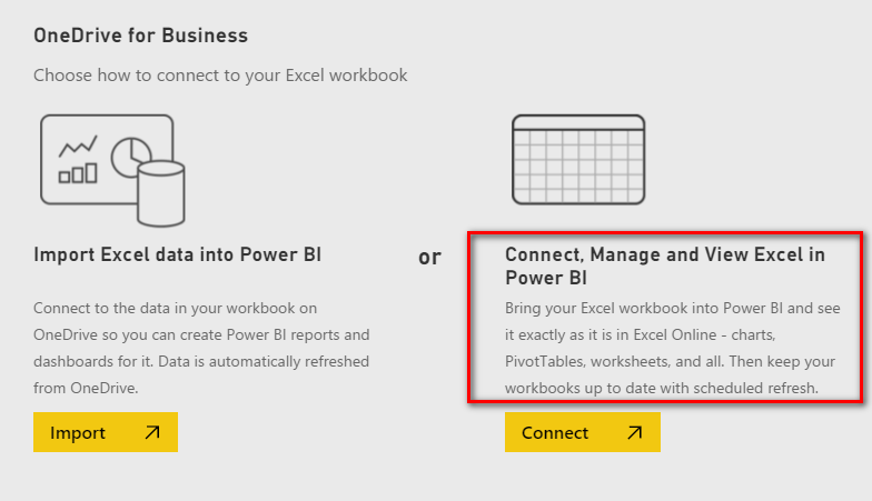 Pin Excel to Power BI Dashboard is Disappointing