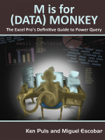 M is for Data Monkey (includes free digital copy)