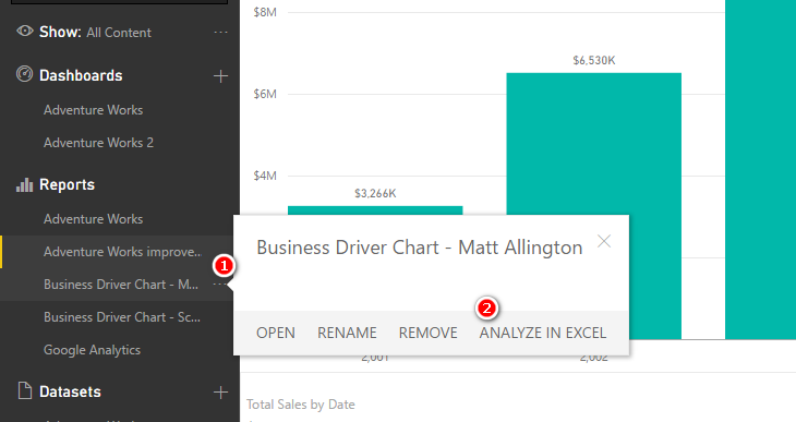 Power BI Analyze in Excel - What You Need to Know - Excelerator BI
