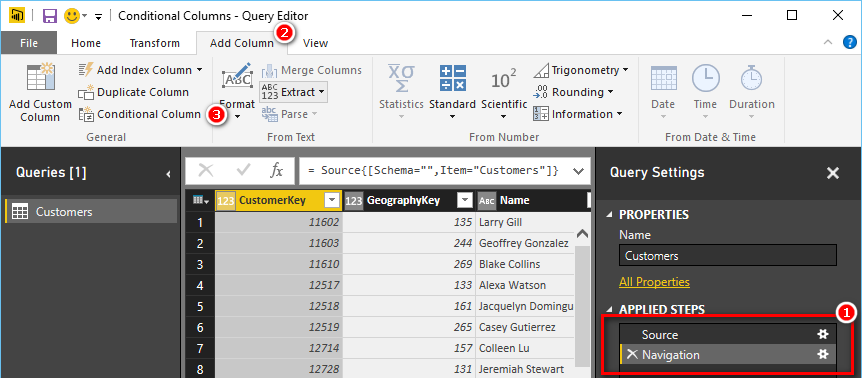 Conditional Columns in Power BI Desktop - Excelerator BI