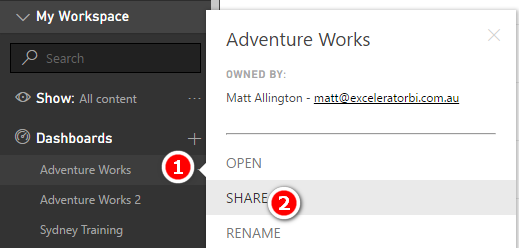 Top Tips for Sharing Content Using Power BI