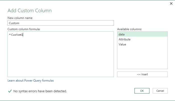 Convert a Cell Value into a Column with Power Query - Excelerator BI