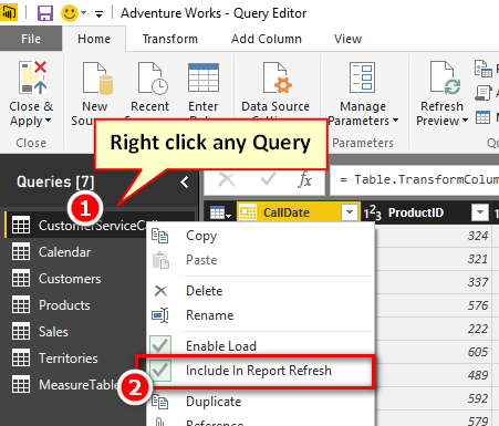 Conditionally Refresh Queries in Power BI - Excelerator BI