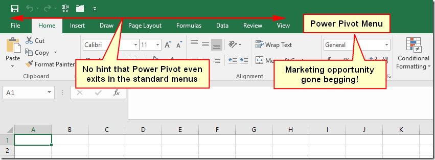 Who Needs Power Pivot, Power Query and Power BI Anyway?