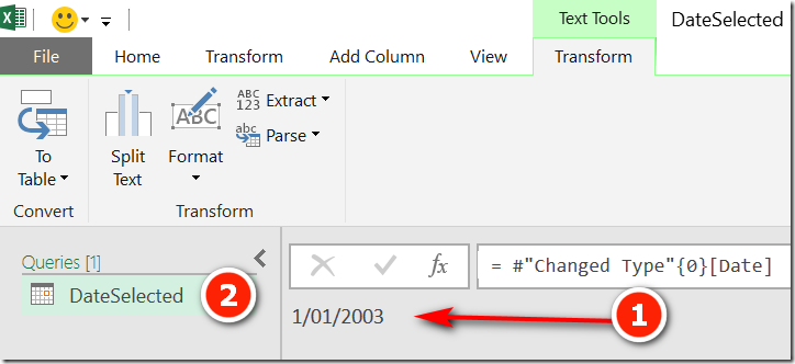 Pass an Excel Parameter to Power Query - Excelerator BI