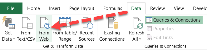 Using Power Query for Extracting Non-Tabular Data from Web