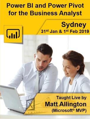 Live Trg Sydney Jan 2019