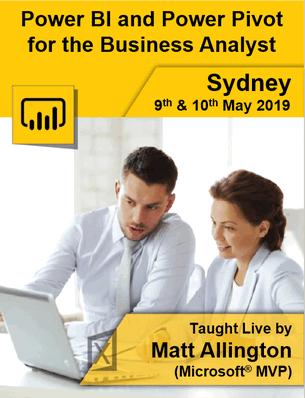 Sydney May 19 Live Training
