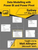 Sydney May 19 data modelling