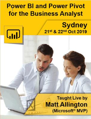 Sydney Oct 19 Live Training