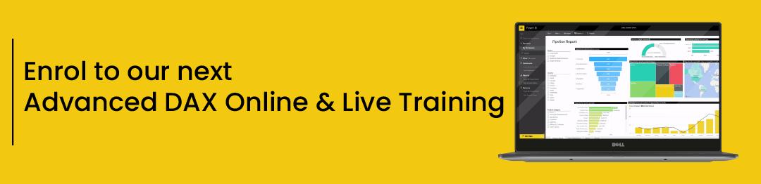 Advanced DAX Online & Live