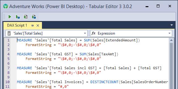 Tabular Editor 3